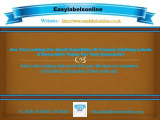 Easy Label Online - UK
