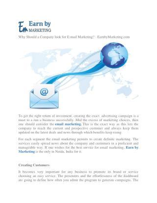 Online free SMS demo provider Company (9899756694) in Noida India-EarnbyMarketing.com