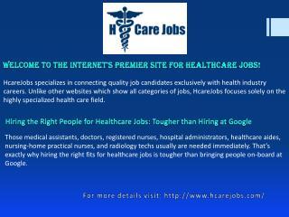 Hospital Jobs