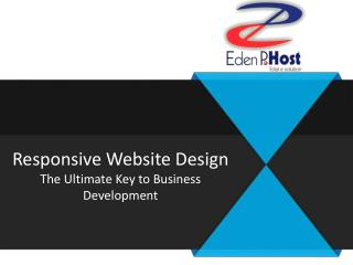 Top Responsive Website Design Toronto - Eden P Host