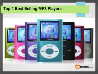 Top 4 Best Selling MP3 Players