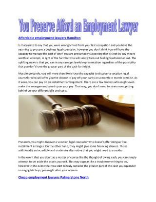 Dismissed  Employment Dunedin - Employment lawyers Marlborough