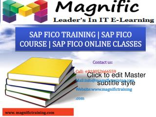 SAP FICO ONLINE TRAINING IN AUSTRALIA|CANADA|SOUTH AFRICA