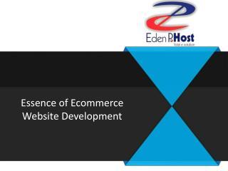 Ecommerce Website Design Toronto - Eden P Host