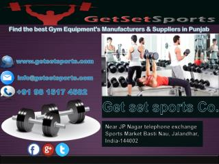 Fitness equipments manufacturers in punjab