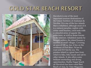 Gold Star Beach Reort