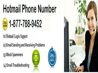 Call Hotmail phone 1-877-788-9452 tollfree number for Hotmail Support