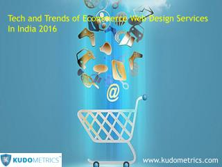 E-Commerce web designing services in India