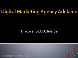 Digital Marketing Agency Adelaide
