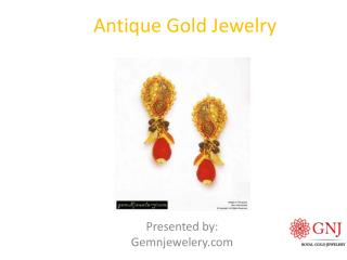 Antique GOld Jewelry - GemNJewelery.com