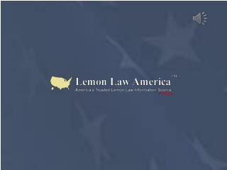 A Premier Lemon Law Information Source - Lemon Law America