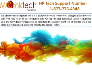 HP tech Support Number toll free