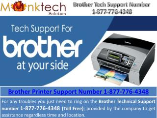 Brother tech Support Number