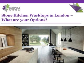A walk through Stone Kitchen Worktops by MKW Surfaces