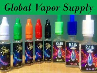 E Liquid Flavors - Global-Vapor.Com