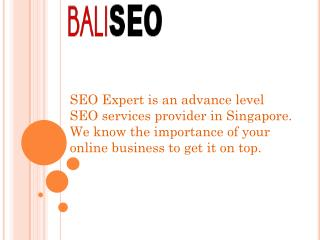 Affordable SEO Services In Singapore