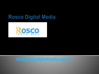 Web Design for Small Business - www.roscodigitalmedia.co.uk