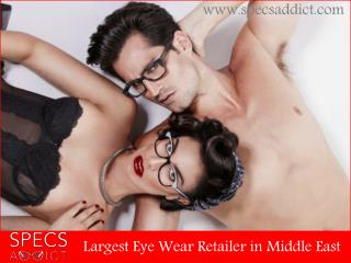 SPECS ADDICT - Sexiest, fashion forward eyewear online
