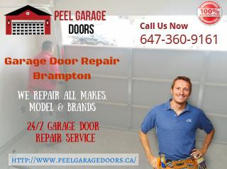 Brampton Garage Door installation & Repair Service - Peel Garage Doors