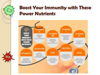Boost Your Immunity with These Power Nutrients