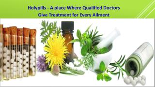 Holypills - A place Where Qualified Doctors Give Treatment for Every Ailment