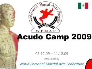 Acudo camp 2009