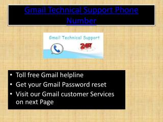 Gmail Technical Support Phone Number
