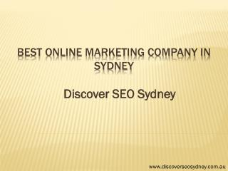 Best Online Marketing Company in Sydney