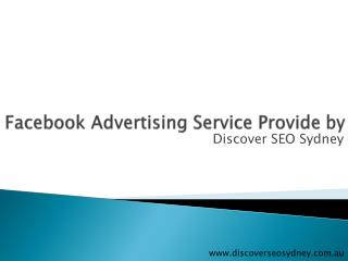 Facebook Advertising Provide by Discover SEO Sydney