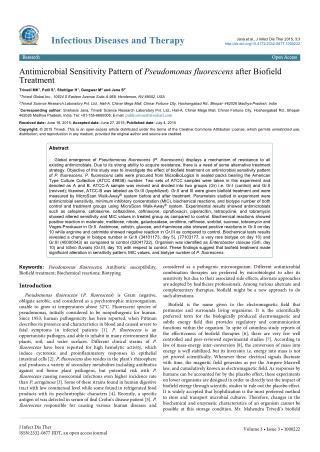 Spiritual Energy Impact on Pseudomonas Fluorescens Characteristics