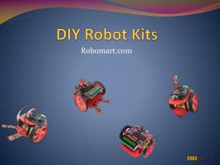 DIY Robot Kits - Robomart