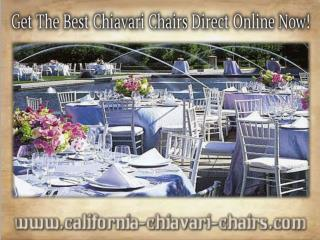 Get The Best Chiavari Chairs Direct Online Now!
