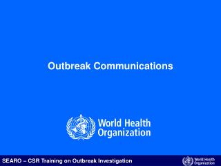 Outbreak Communications