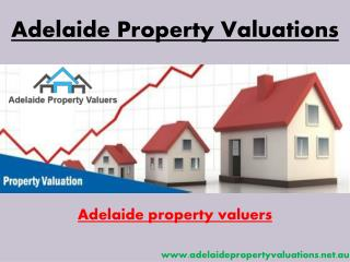 Real Estate Valuations Services Adelaide, SA