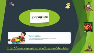 Buy-Sell-Online b2b User Friendly Toys Products now in India's Largest Live Market at Pepagoar.com