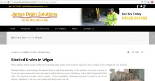 Best Professionally equipped Blocked Drains Company in Wigan