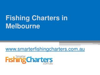 Fishing Charters in Melbourne - www.smarterfishingcharters.com.au