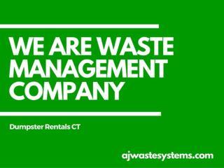 Waste Management Solution