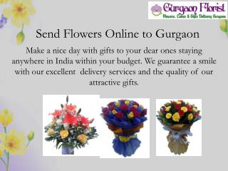 Send Online Flowers & gifts to Gurgaon