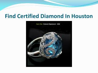 Beautiful Diamond jewelry In Houston