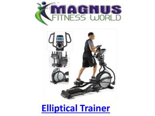 Fitness World Gym Equipment | Elliptical Trainer Online Sale India