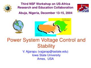 Power System Voltage Control and Stability