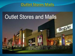 Outlet Stores and Malls | Outlet Stores and Malls