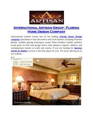 International Artisan Group - Florida Home Design company