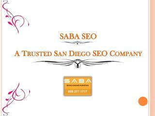 A Trusted San Diego SEO Company