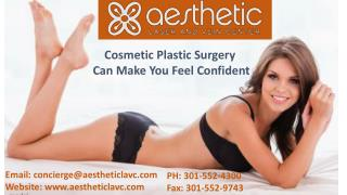 Cosmetic Plastic Surgery Can Make You Feel Confident