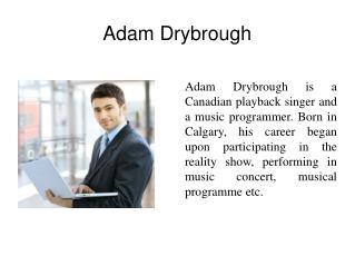 Adam Drybrough
