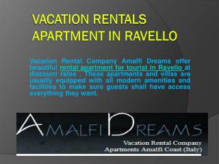 Vacation Rentals Apartment in Ravello