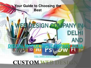 Website Designing Services Company Delhi