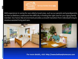 Residential Care Facility for the Elderly